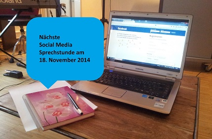 Freie Plätze bei der 3. Social Media Sprechstunde