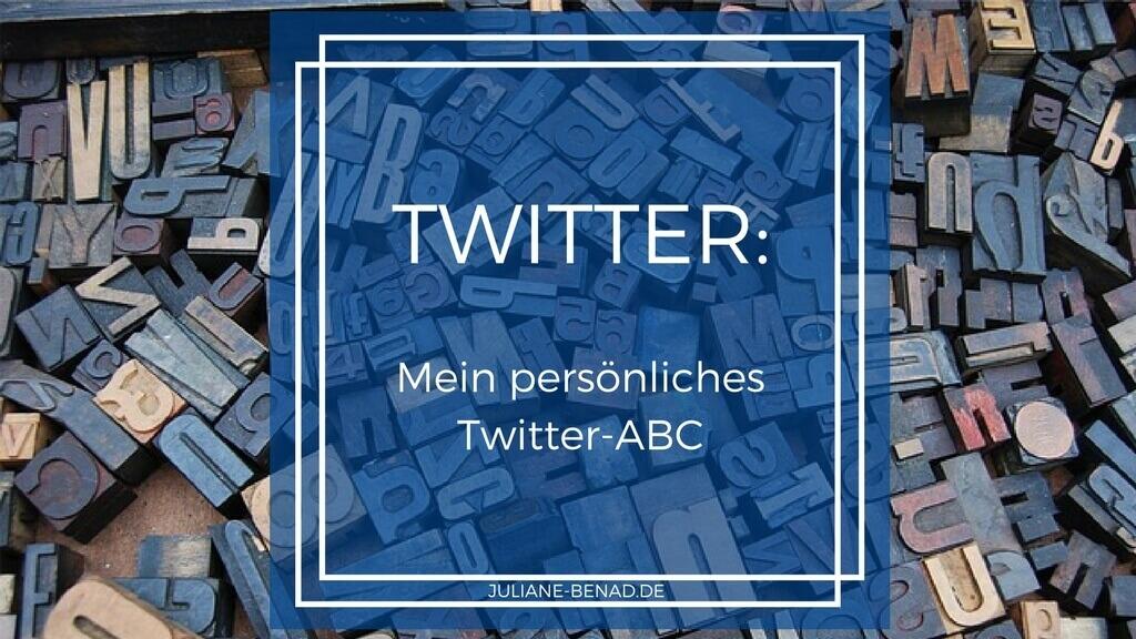 Mein Twitter-ABC