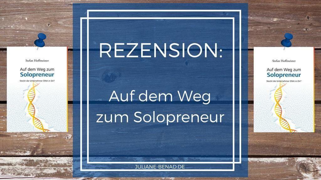 Rezension: Auf dem Weg zum Solopreneur