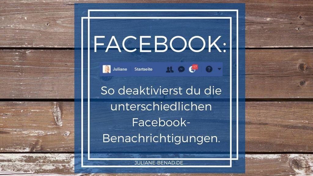 Facebook: So deaktivierst du die verschiedenen Benachrichtigungen