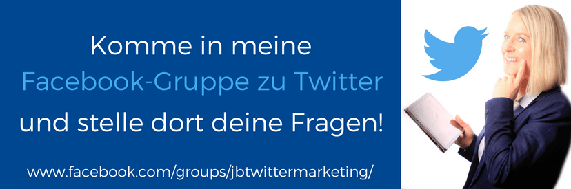 Facebook Gruppe zu Twitter Marketing von Juliane Benad