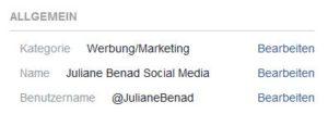 So änderst du die URL / den Nutzernamen deiner Facebook-Seite