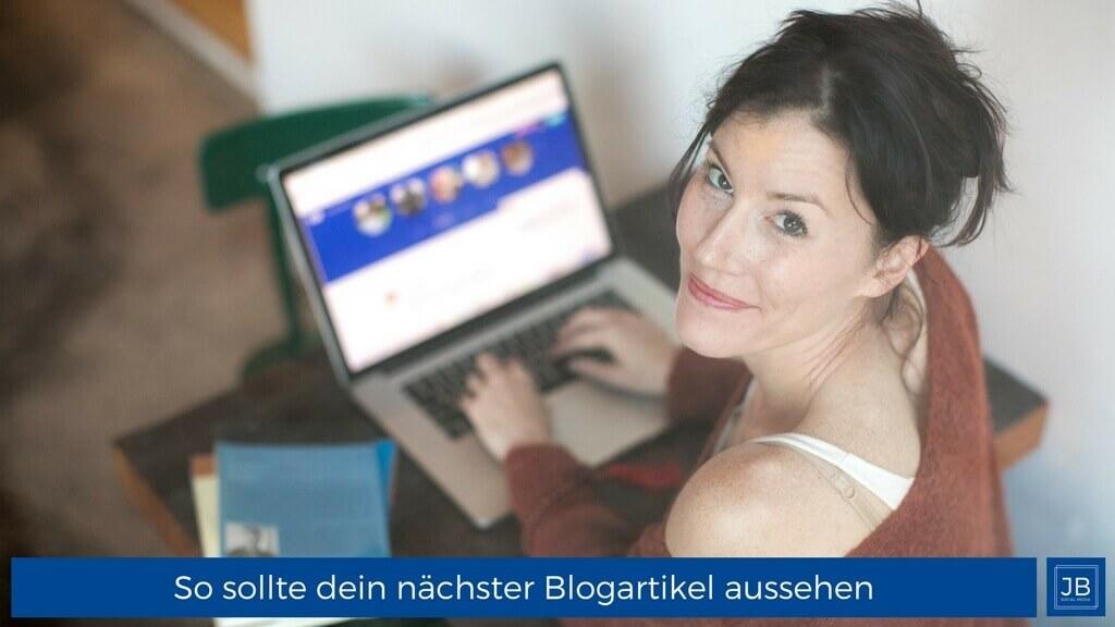 Dein perfekter Blogartikel