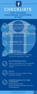 Checkliste Facebook Gruppen starten
